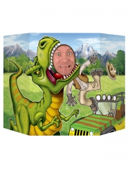 Passa cabeça dinossauro 94 x 63,5 cm