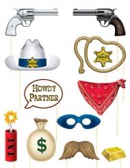 Acessórios para Photobooth tema Western