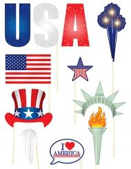 11 acessórios para Photobooth tema USA