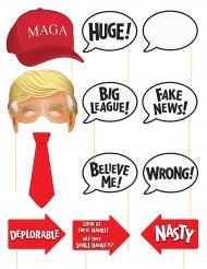 Acessórios para Photobooth tema presidente americano