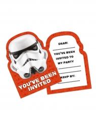 6 Convites Stormtrooper™