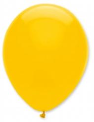 6 Balões amarelos