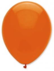 6 Balões cor de laranja escuro 30 cm