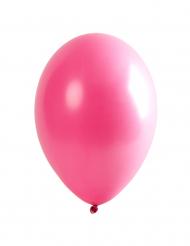 6 Balões cor-de-rosa