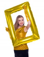 Balão Quadro dourado