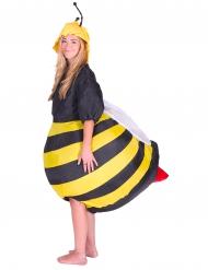 Disfarce insuflável abelha adulto