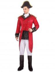 Disfarce Napoleão aspecto veludo homem
