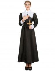 Disfarce freira mulher