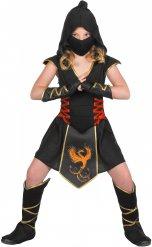 Disfarce ninja menina
