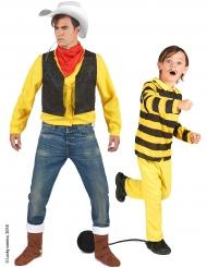 Disfarce de casal Lucky Luke™ e dalton pai e filho
