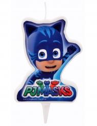 Vela de aniversário Pj Masks™ Catboy 7.2 x 6 cm
