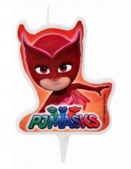 Velas de aniversário Pj Masks™ Corujinha 7.2 x 6 cm