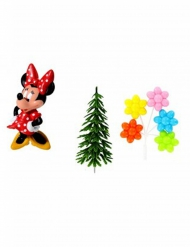 Kit de 4 acessórios decorativos Minnie™