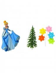 Kit de decoração para bolo Princesas Disney™ Cinderela™10 x 20.5 x 5 cm