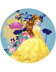 Disco ázimo Princesas Disney™ Bela 14.5 cm