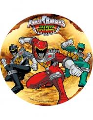 Disco ázimo Power Rangers™ 21 cm