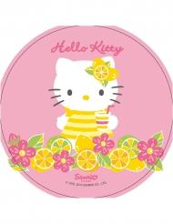 Disco ázimo cor-de-rosa Hello Kitty™ 21 cm