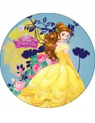 Disco ázimo Princesas Disney™ Bela 21 cm