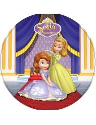 Disco ázimo Princesa Sofia™ 21 cm