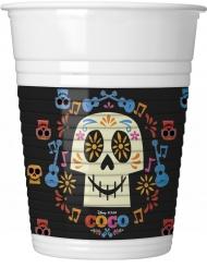 8 Copos de plástico coloridos Coco™