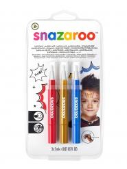 Set de canetas pincel palhaço criança