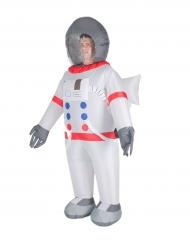 Disfarce insuflável astronauta adulto