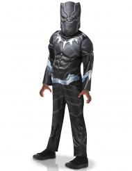 Disfarce Black Panther™ luxo criança