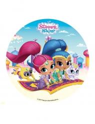 Folha de açúcar Shimmer & Shine™ 16 cm