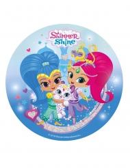 Folha de açúcar Shimmer & Shine™ 20 cm