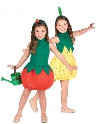Disfarce de casal fruta ananás e morango Meninas