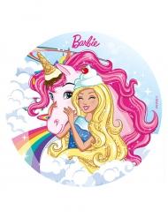 Folha de açúcar Barbie™ 20 cm