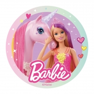 Disco ázimo Barbie™ 20 cm