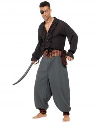 Calças mercenário pirata adulto