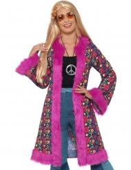 Disfarce Hippie Paz Flores mulher