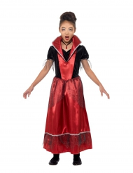 Disfarce princesa vampira menina