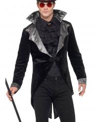 Casaco de vampiro gótico luxo adulto