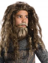 Peruca e barba criança Aquaman™