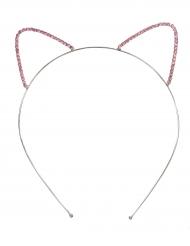 Bandolete orelhas de gato menina