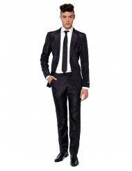 Fato Mr. Solid preto homem Suitmeister™