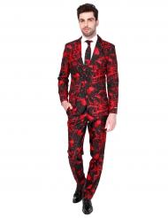 Fato Mr. Black blood homem Suitmeister™