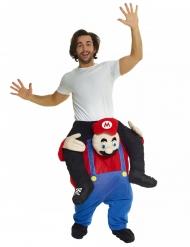 Disfarce homem em Bombeiro vermelho adulto Morphsuits™