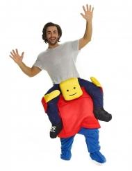 Disfarce homem em cima de uma cabeça quadrada adulto Morphsuits™