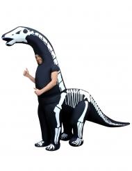 Disfarce inflavel esqueleto de dinossauro gigante adulto Morphsuits™