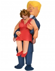 Disfarce homem carregado pelo Trump inflável adulto Morphsuits™