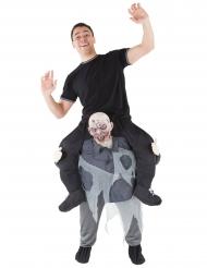 Disfarce homem em cima de um zombie adulto Morphsuits™