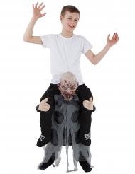 Disfarce criança às costas de um zombie Morphsuits™ criança