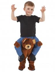 Disfarce criança às costas de um urso castanho crianç Morphsuits™