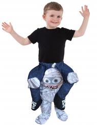 Disfarce criança às costas de uma múmia Morphsuits™ criança