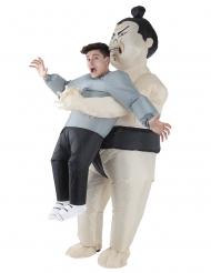 Disfarce homem em cima do Sumô adulto Morphsuits™