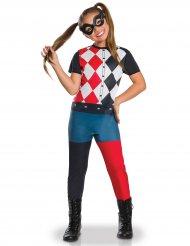 Disfarce clássico Harley Quinn™ menina
